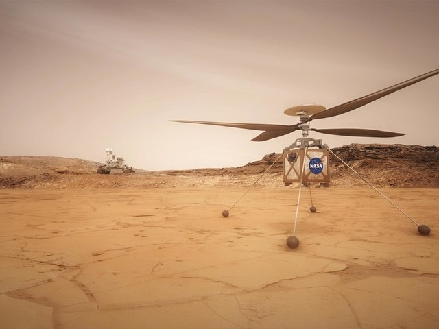 Where no chopper has gone before: NASA to send a helicopter to Mars