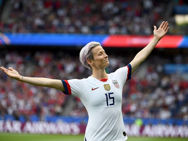 U.S. captain Megan Rapinoe, Lionel Messi win Ballon d'Or awards