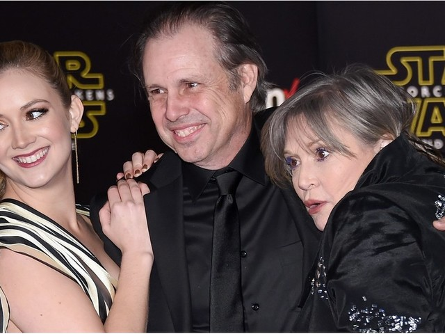 "Todd Fisher Calls Niece Billie Lourd a ""Pretty Powerful Gal"" Following Her Mother's Death"