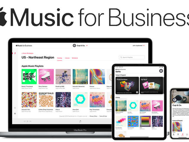 Those awful retail playlists might soon be powered by Apple Music