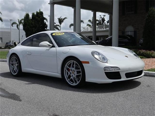 2010 Porsche 911--Carrera--S