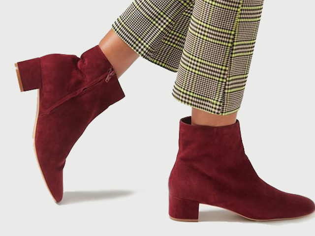 Take On Fall In Pain-Free Style With These 24 Low Heel Booties