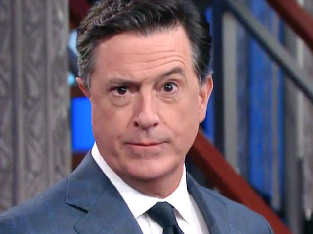 Stephen Colbert Has A Gross Theory About Donald Trump's 'Executive Time'