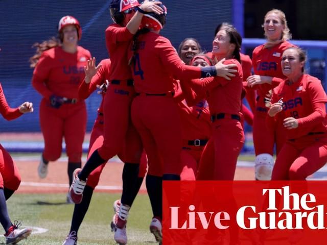 Tokyo 2020 Olympic softball final: Japan and USA go for gold – live!