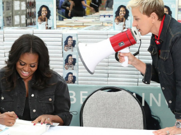 Michelle Obama's Memoir Almost Sold A Milli The First Day, Some Folks Are BIG Mad + FLOTUS Hits Costco With 'Ellen', Dishes On Malia's Heavily Armed Prom Night