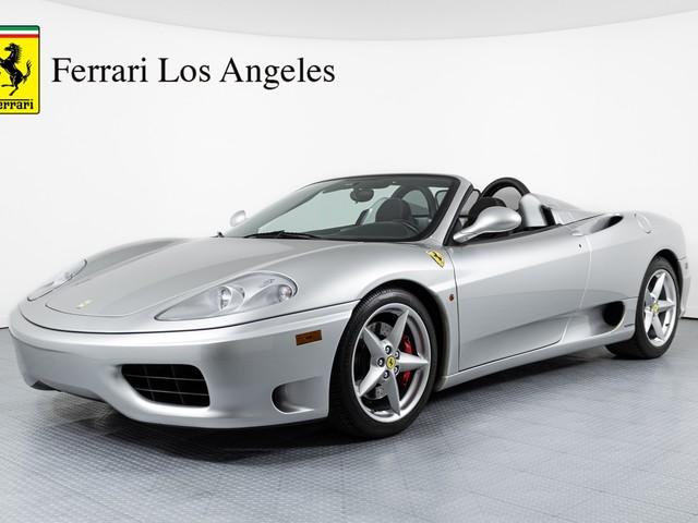 2004 Ferrari 360--Spider Base