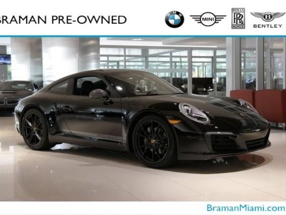 2019 Porsche 911--Carrera--T
