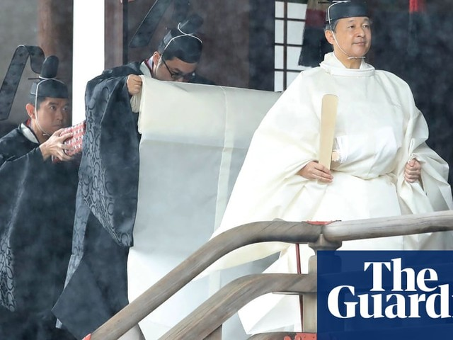 Japan grants half a million pardons to mark enthronement of emperor Naruhito