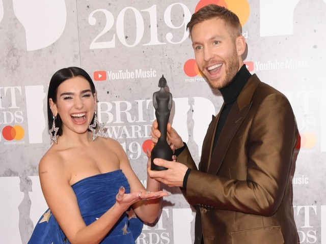 Dua Lipa, Calvin Harris, The 1975, Beyoncé and More Win at the Brit Awards