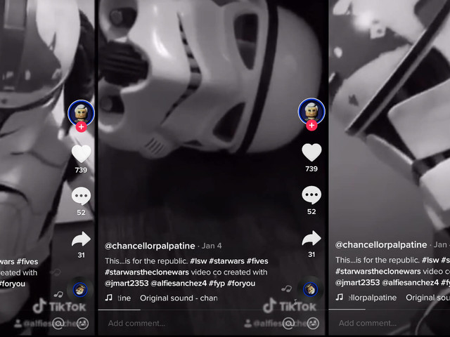 This TikTok account for Chancellor Palpatine is hilarious