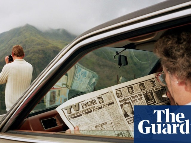Martin Parr's 40 years in the life of Wales: 'Let's face it – people are funny'