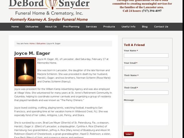 Joyce M. Eager