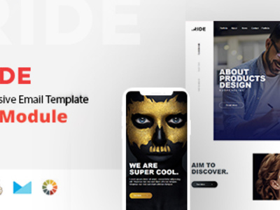 Ride - Responsive Email Template Minimal (Email Templates)
