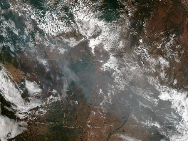 The Amazon is choked with smoke