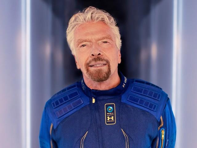 Richard Branson reaches space in historic flight