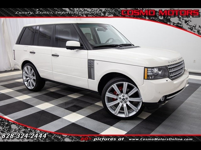 2010 Land-Rover Range--Rover--Supercharged