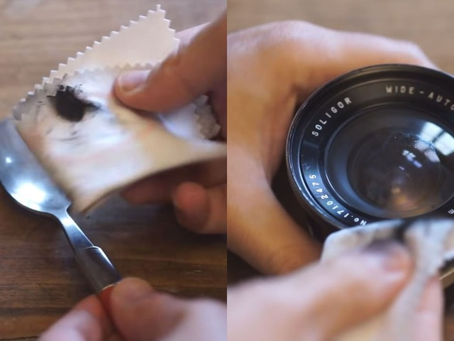 How to Clean Your Camera Lens with Candle Soot