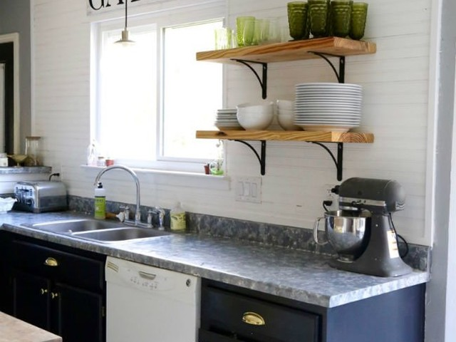 10 DIY Countertops that You and Your Wallet Will Love