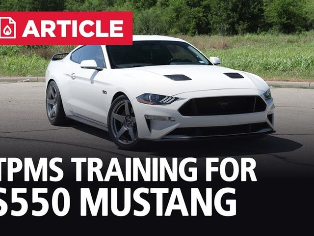 How To Reprogram TPMS On S550 Mustang | 2015-21
