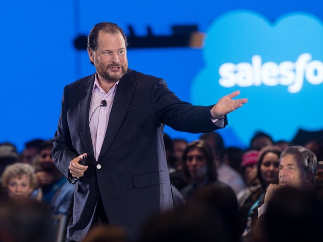Salesforce co-CEO Marc Benioff explains why billionaires like himself should pay more taxes (CRM)