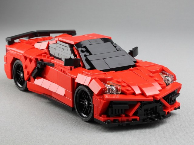 If You Can't Wait for The Chevrolet Corvette C8 to Get The LEGO Treatment, Here's How You Can Build One From the Ground Up