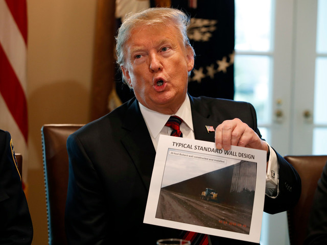Trump says he's in no rush to declare national emergency