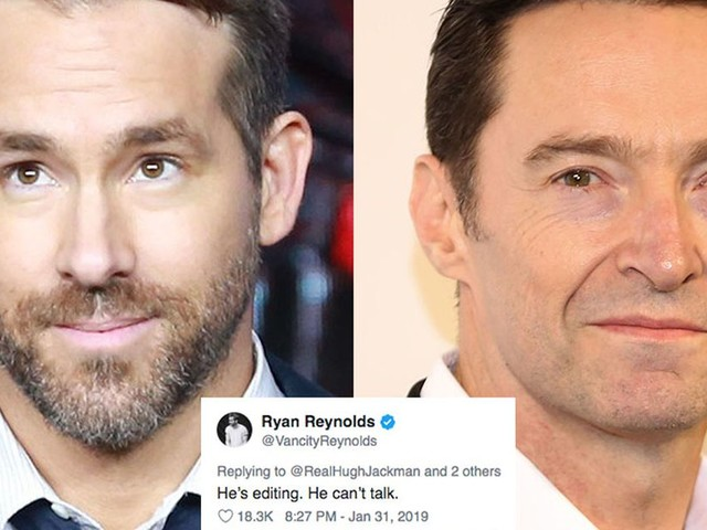 Ryan Reynolds and Hugh Jackman's Twitter 'truce' is definitely too good to be true