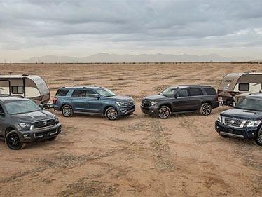Comparison Tests: 2018 Full Size SUV Challenge