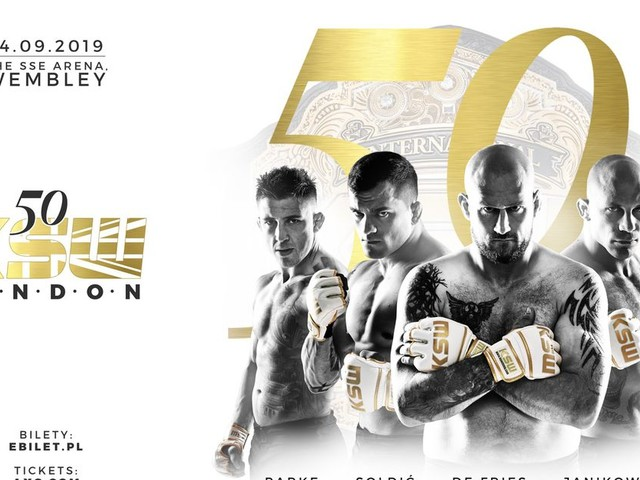 KSW 50 fight card preview and weigh-in video