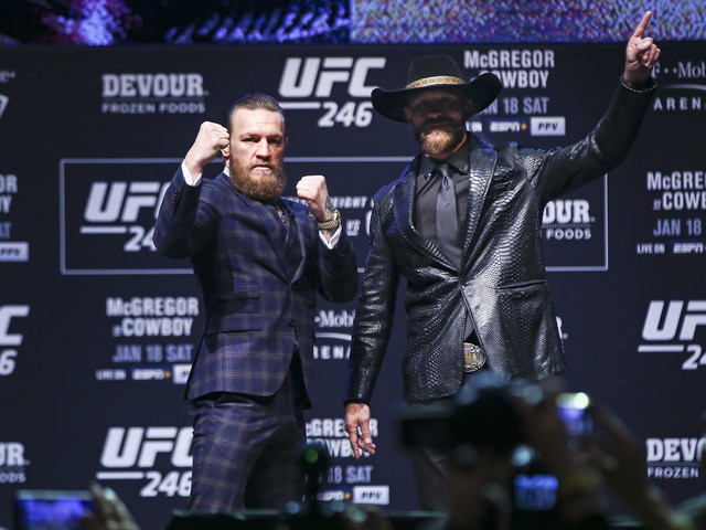 Conor McGregor, Donald Cerrone saving drama for Saturday