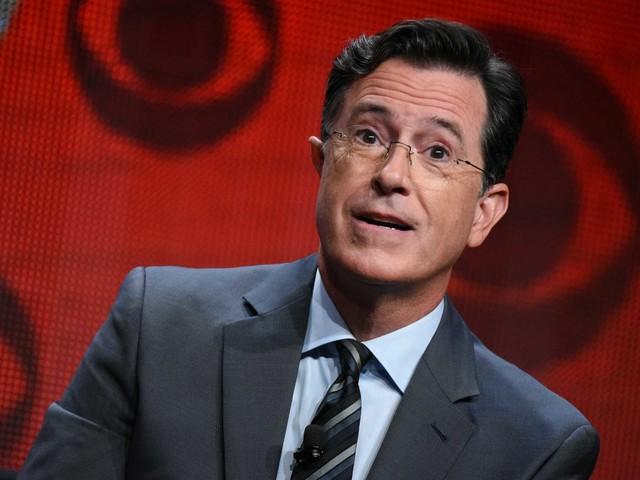 Beto O'Rourke going on Stephen Colbert talk show