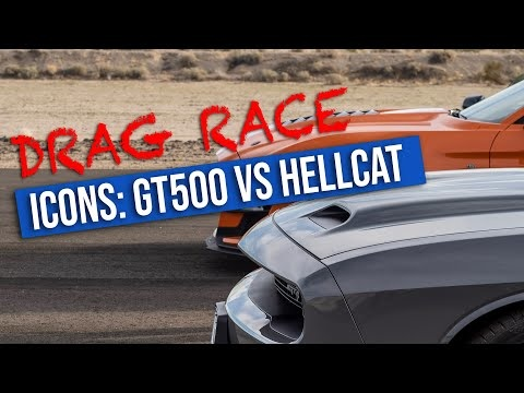 Watch A Ford Mustang Shelby GT500 Outpace The Dodge Challenger SRT Hellcat
