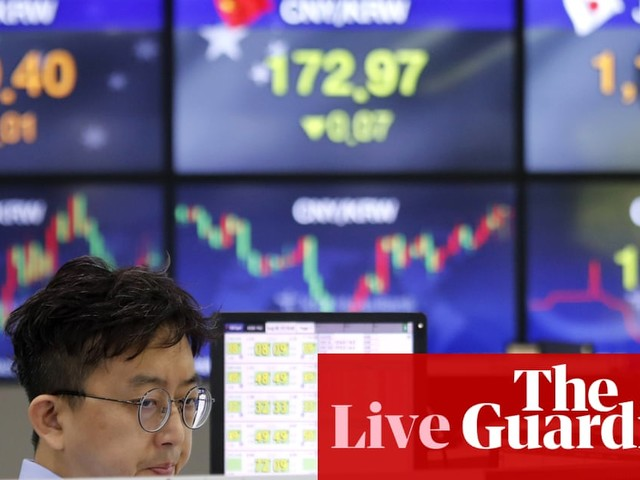 Markets jittery as recession warnings spook investors – business live
