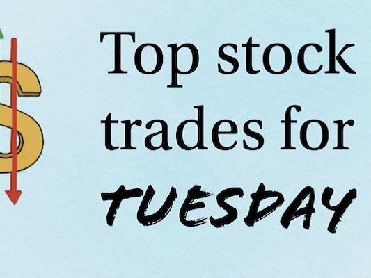 5 Top Stock Trades for Tuesday: BAC, NFLX, ATVI, INTC
