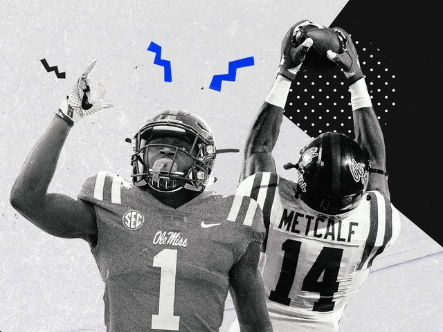 Brown was better than Metcalf in college. How about NFL?