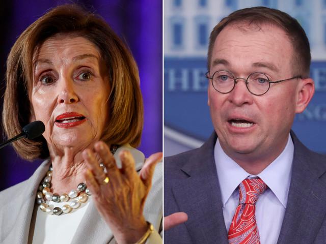 Pelosi says Mulvaney's Ukraine comment was a 'confession'