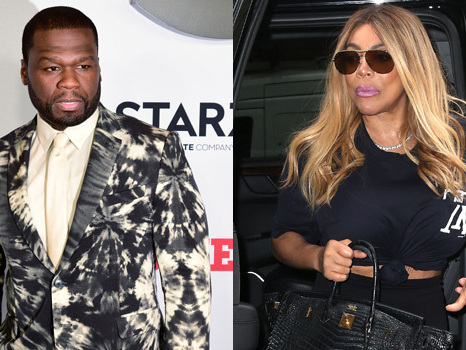 50 Cent Has More Clap Backs 'Ready' If Wendy Williams Disses Him When Her Show Returns