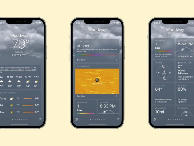 Hands-on: iOS 15 brings an all-new Weather app with maps, animations, and more
