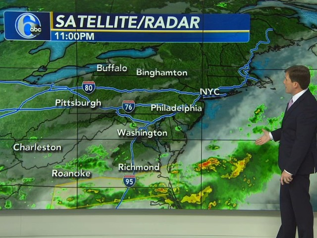 AccuWeather Alert: Mostly Sunny, Pleasant