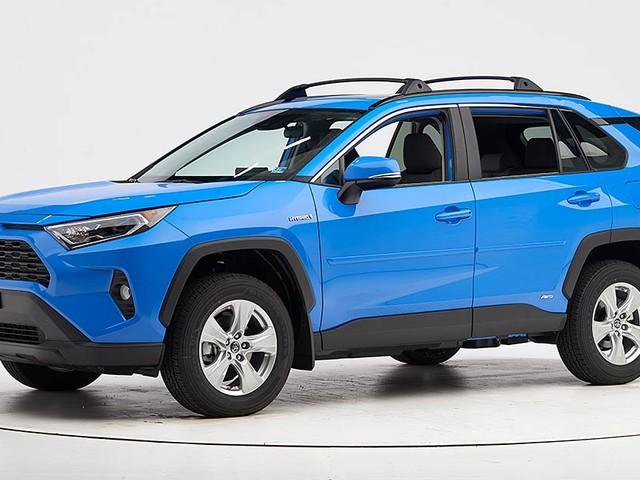 Toyota RAV4 earns highest safety award
