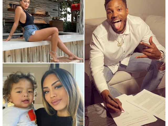 NBA's Malik Beasley Slapped With Divorce Papers Amid Larsa Pippen 'Cheating' Scandal & NEW Alleged Side Chick Tales
