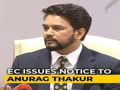 "Anurag Thakur Gets Poll Body Notice Over ""Goli Maaro"" Slogans At Rally"