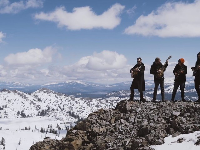 Fruition Plays Mountaintop 'The Meaning' At WinterWonderGrass Tahoe Squaw Valley