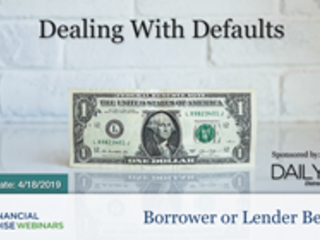 "Financial Poise™ Announces ""Dealing With Defaults,"" a New..."