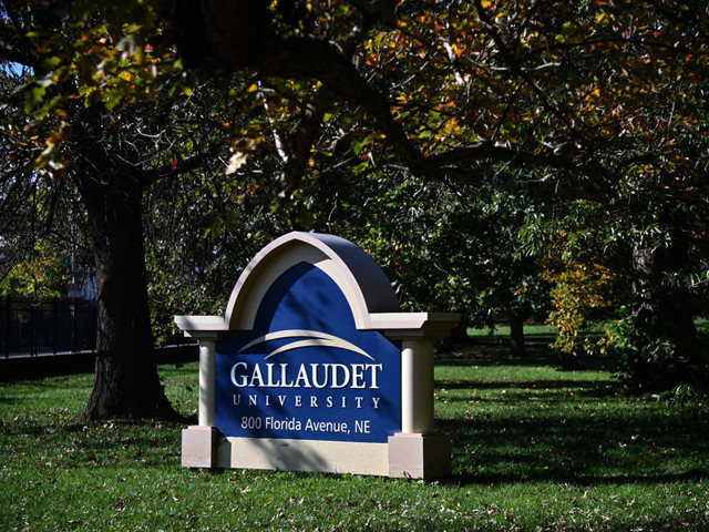 Ten former Gallaudet students sue university for statements about their fraternity and racism