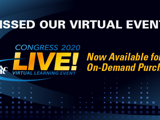 AARC 2020 Congress LIVE! On-Demand Access Now Available