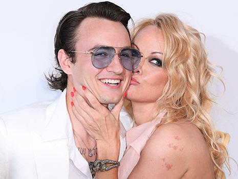 Pamela Anderson — How Son Brandon Lee, 23, Feels About Her Wedding & New Husband Jon Peters