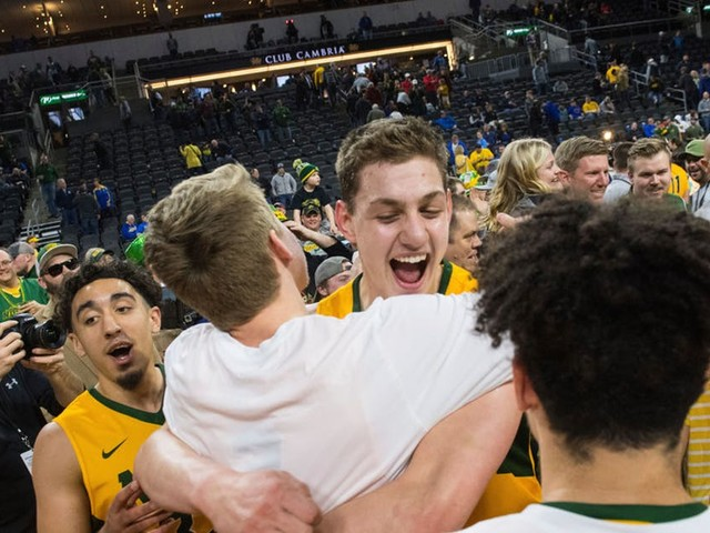 North Dakota St.: Tops in football, but in basketball ... not by a long shot