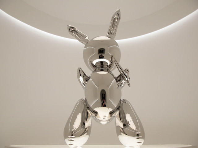 Jeff Koons 'Rabbit' sculpture goes for record $91M