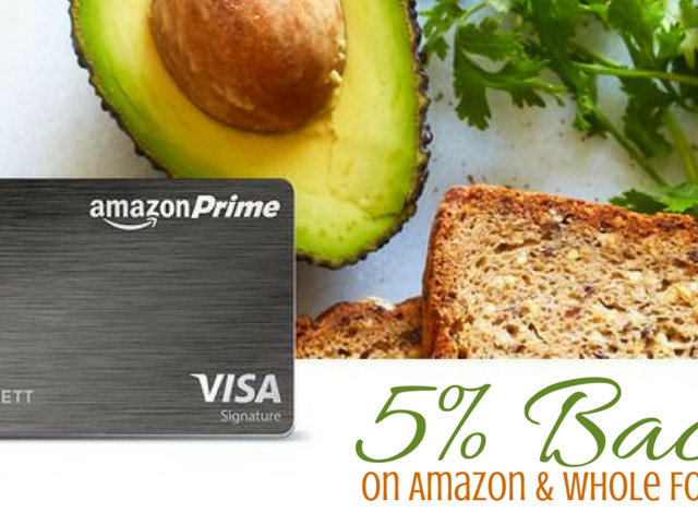 Amazon Prime Rewards Visa | 5% Back on Amazon & Whole Foods